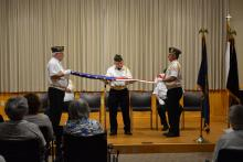 Flag Folding Demonstration