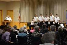 Tudor Oaks Veterans Ceremony